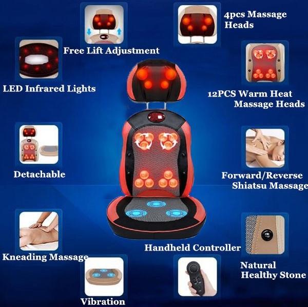 đệm massage Shoohan có nhiều chức năng và tác dụng tốt cho cơ thể