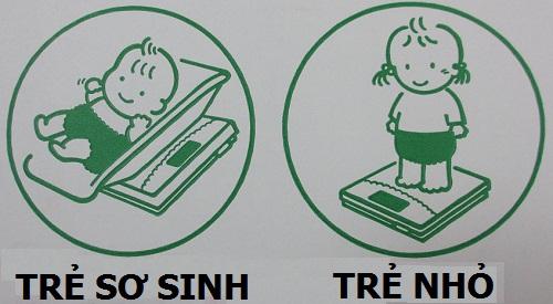 Cân sức khỏe điện tử cho trẻ em