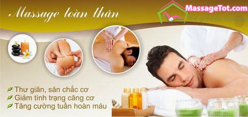 Massage toàn thân có rất nhiều tác dụng