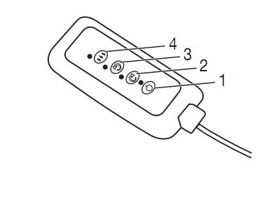 Gối massage đèn hồng ngoại có điều khiển Beurer MG147