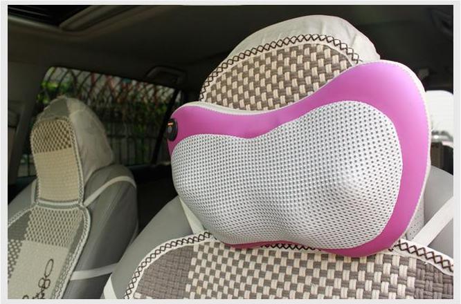 Ghế massage chính hãng Nhật Bản 30 bi mát xa hiệu quả, gối mát xa hồng ngoại Nhật