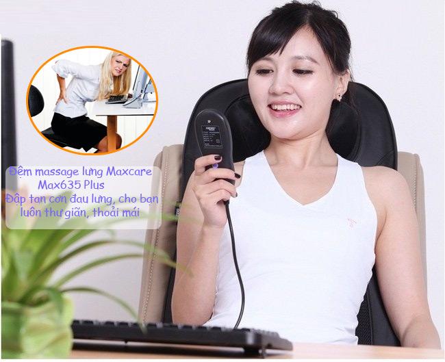 Đệm massage toàn thân Maxcare Max-635 Plus