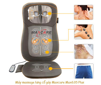 Đệm massage đa năng Maxcare Max-635 Plus