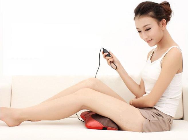 Gối massage Shoohan rất tốt cho sức khỏe