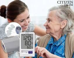Máy đo huyết áp điện tử bắp tay Citizen CH-456
