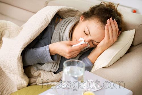 Bệnh cúm thường mắc phải vào mùa đông