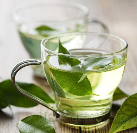 Uống trà xanh giúp ngăn ngừa lão hóa