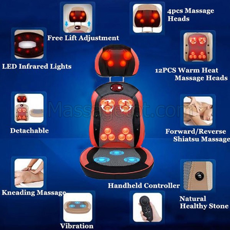 Sử dụng đệm massage hữu dụng vào mùa đông