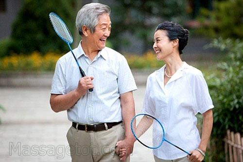 Tập thể thao ở người già