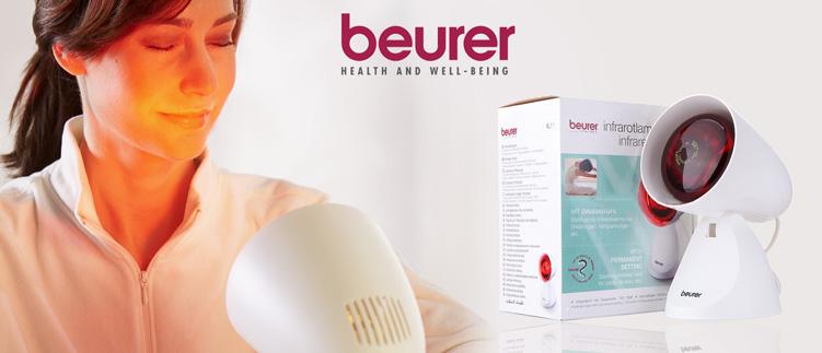 Đèn hồng ngoại trị liệu 100W Beurer IL11