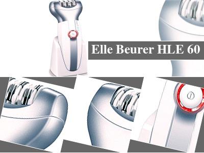 Máy tẩy cạo lông hiệu quả Beurer HLE60